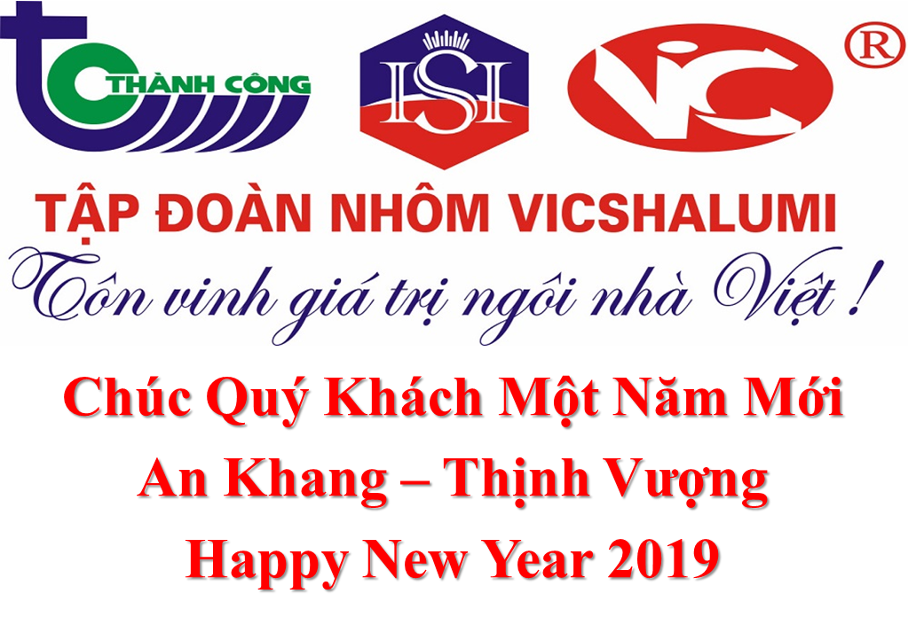 Tập Đoàn Vicshalumi - Thông Điệp Cuối Năm 2018 Và Chào Năm Mới 2019