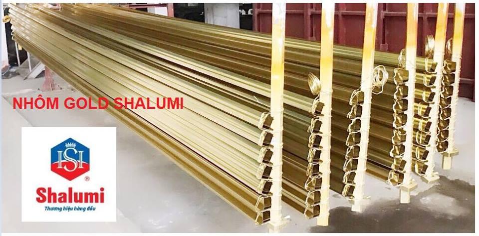 Nhôm Gold Shalumi